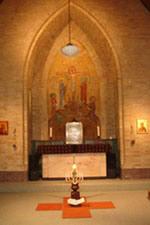 Foto van de Fransiscus kapel in de Wonne Almelo.